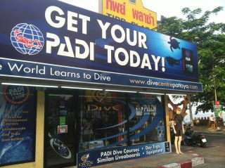 pattaya dive centre Snorkel pattaya main office shop