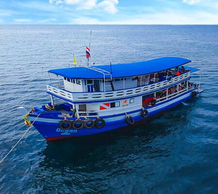 Pattaya Snorkeling boat Ocean-1